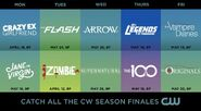 The-CW Spring-2016 Finale-Dates