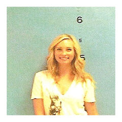 Candice's mugshot
