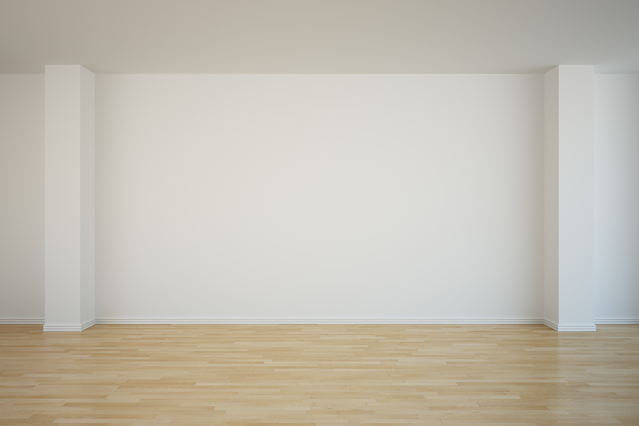 Image bigstock d rendering of an empty room for Four blank walls