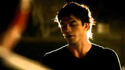 1x04 Damon attacks Elena in Stefan's Dream (HD)