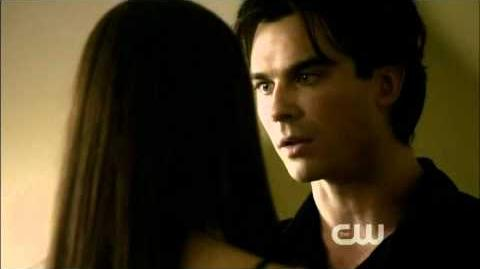"Damon Elena The Vampire Diaries S02E08 Rose 2x08 season 2 episode 8 ""I love you, Elena"" scene"