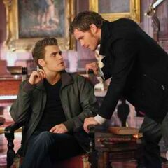 Stefan and Klaus in The Ties That Bind