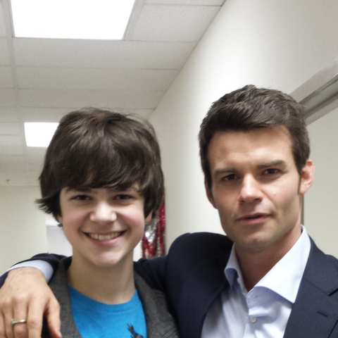 Daniel Gillies with Perry Cox