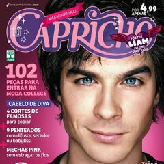 Capricho — May 6, 2012, Brazil, Ian Somerhalder