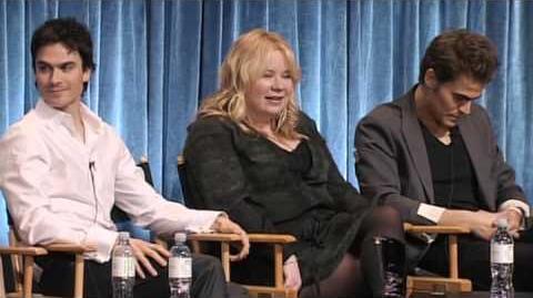 2012 The Vampire Diaries Paleyfest Panel (Full)