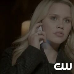 Rebekah on the phone