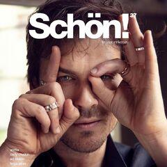 Schön! 37 — November 2019, United Kingdom, Ian Somerhalder