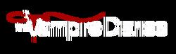 The Vampire Diaries logo blanco