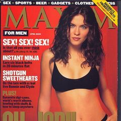 Maxim — Apr 2000, United States, Jodi Lyn O'Keefe