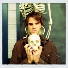 Nate on set of After School Special