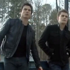 Damon and Stefan 4x18 American Gothic