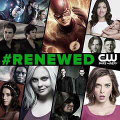 The CW' renovación para 2016-2017