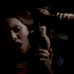 Elena fights for her life.