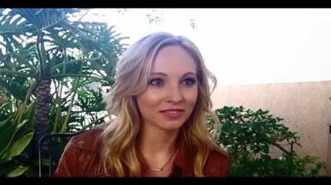 Candice Accola On TVD Spinoff (TheOriginals)