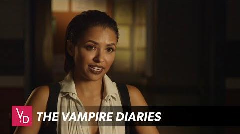 Video - The Vampire Diaries Kat Graham Interview The CW