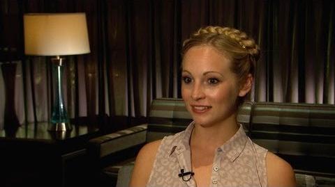 "Candice Accola's ""Vampire Diaries"" Dish"