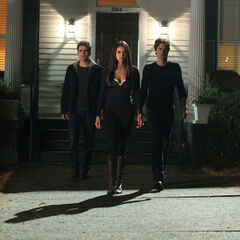 Stand by Me - Elena, Damon, and Stefan