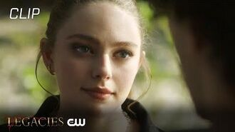 Legacies Season 2 Episode 10 Landon Gives Hope Advice On A Bully Scene The CW