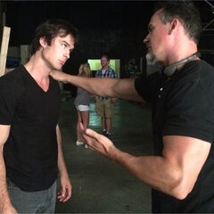 6x01 Jeffrey Hunt, Ian Somerhalder July 2014