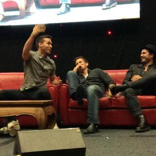 Chris Wood, Matthew Davis, Michael Malarkey