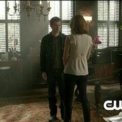 Klaus und Esther im Wohnzimmer
