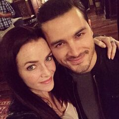 Annie Wersching, Michael Malarkey August 28, 2015