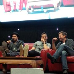Michael Malarkey, Chris Wood, Matthew Davis