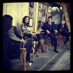 The Originals cast, photo by Chris Grismer