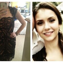 Elena's dress