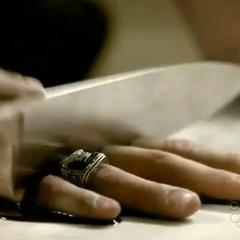 Katherine chopping off john fingers