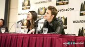 The Vampire Diaries' Paul Wesley and Torrey Devitto Q&A @ Toronto Comic Con 2012 (part 1)