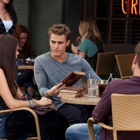 Elena, Stefan and Alaric