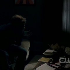 Alaric in apartment