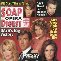 Soap Opera Digest — Feb 5, 2002, United States, Susan Walters
