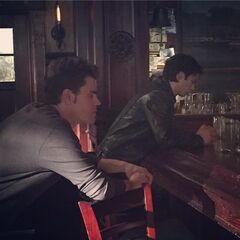 Ian and Paul bts