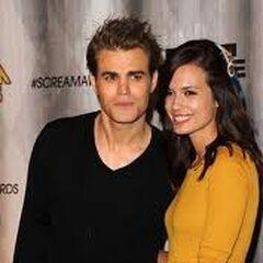 Paul Wesley et sa femme Scream Awards (2011)