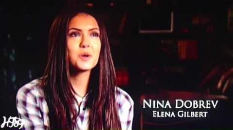 The Vampire Diaries - Casting Ian Somerhalder Damon and Nina Dobrev Elena