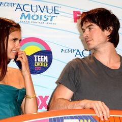 Avec Nina Teen Choice Awards (22 juillet 2012)
