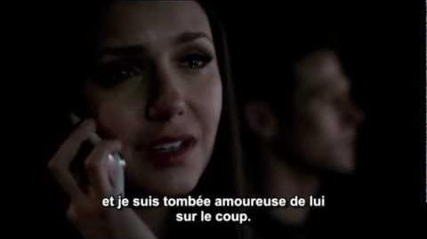 Conversation Damon-Elena 3x22 VOSTFR