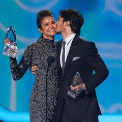 Ian & Nina aux People's Choice Awards (8 janvier 2014)