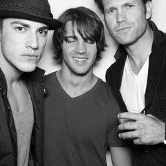 Avec Micheal et Matt