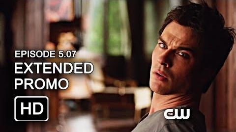 The Vampire Diaries 5x07 Extended Promo - Death and the Maiden HD
