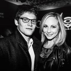 Avec Candice Accola