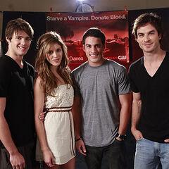 Avec Steven, Kayla et Micheal