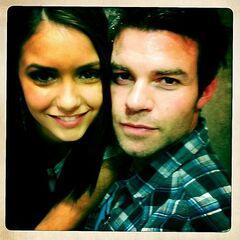 Avec Nina (Twitter de Daniel)