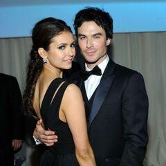 Avec Nina Oscars 2012