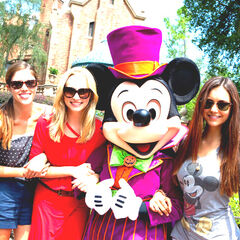 Avec Candice & Nina à Disney World (août 2012)