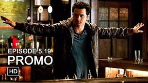 The Vampire Diaries 5x19 Promo - Man on Fire HD