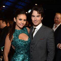 Avec Nina aux Critics' Choice Movie Awards (10 janvier 2013)