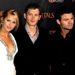 Avec Claire et Daniel